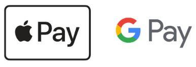 もちろんApple Pay・Google Payも使える!