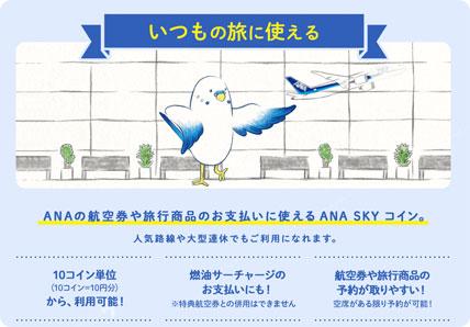 ANAグループで年間100万円利用で5,000円相当プレゼント!