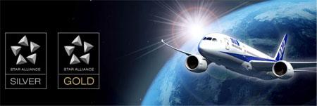 ANA提携航空会社の特典航空券に交換